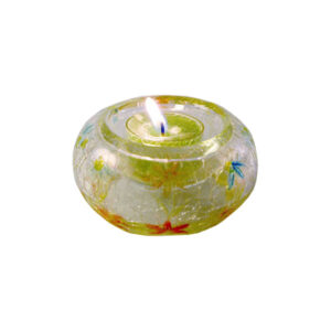 Porta tealight Daisy Crackle