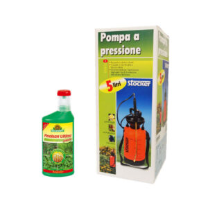 Set diserbo Finalsan e pompa stocker